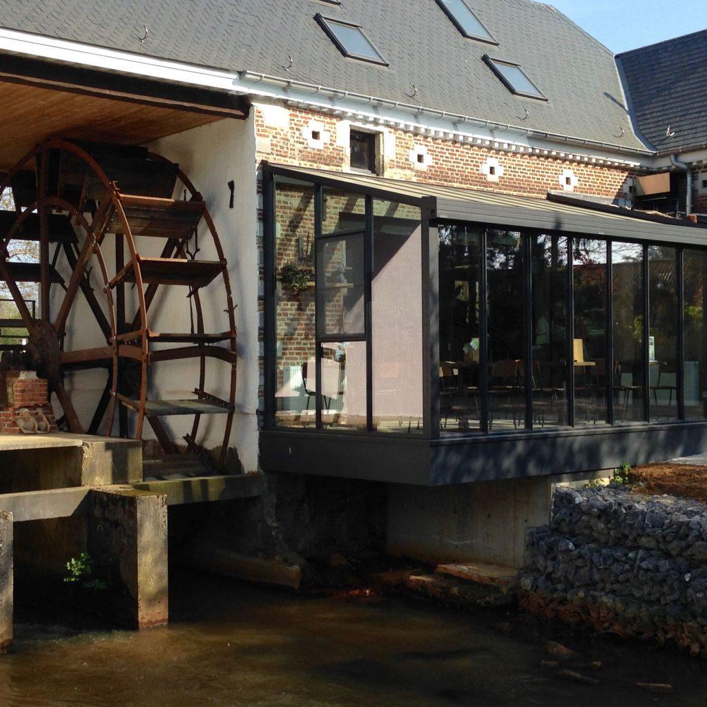 Rad watermolen - Bezoekerscentrum Grote Netewoud